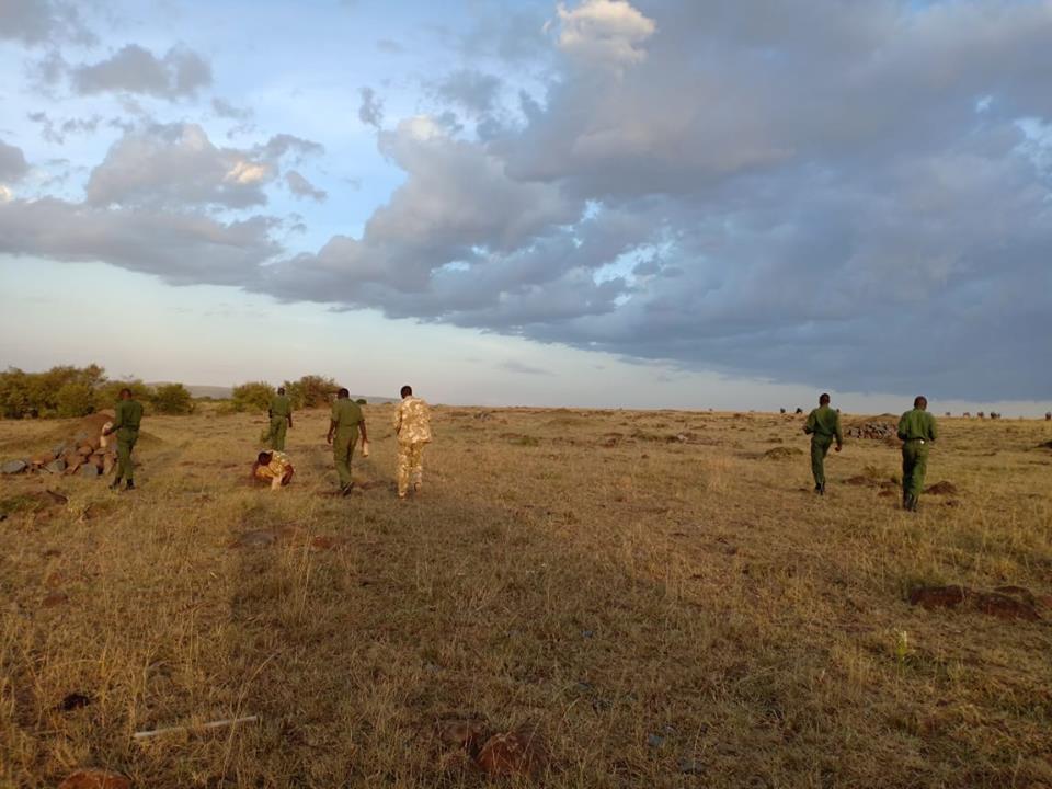 We offered seedballs to the rangers of Mara Elephant in Kenya